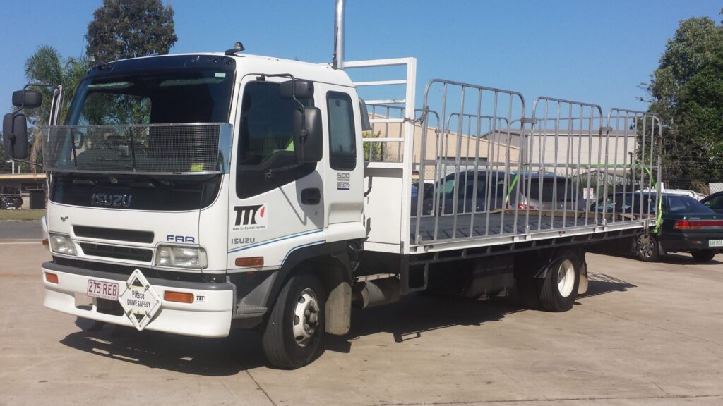 Taxi Truck with side cage