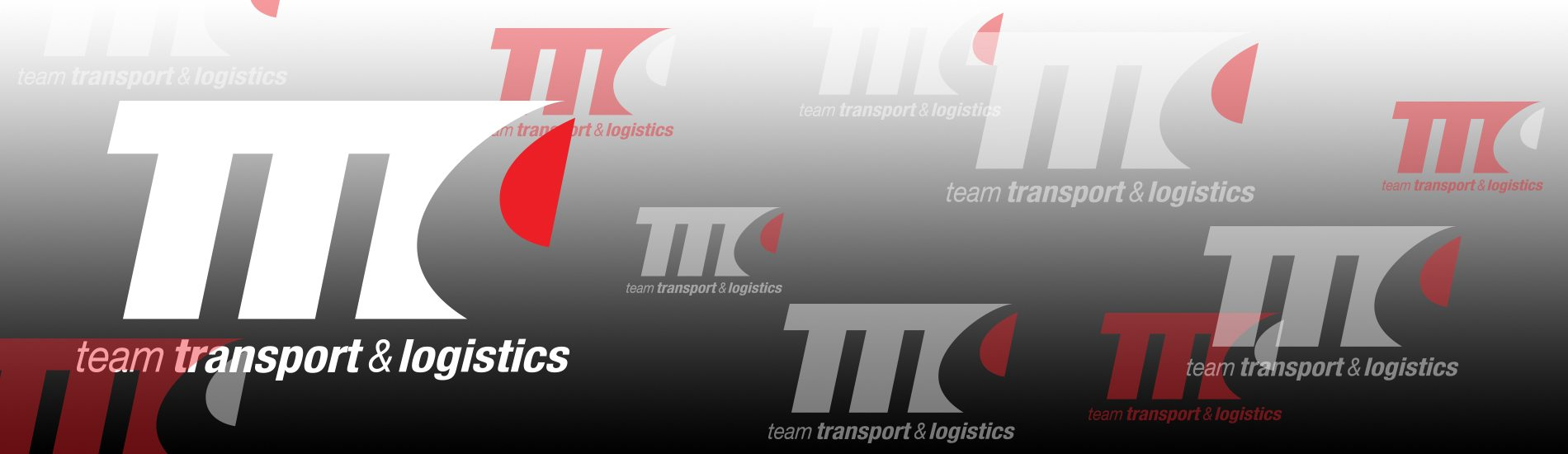 team transport and logistics logo designs on the grey background