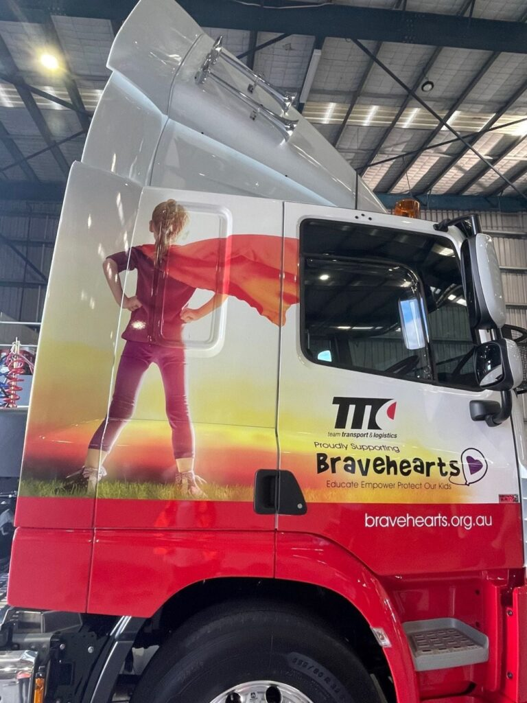 Team Transport and Logistics supports Bravehearts